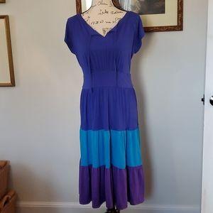 Chadwicks three colored summer dress
